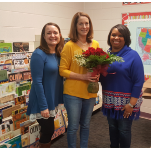 Christine McKinney - 2019 CES Teacher of the Year!