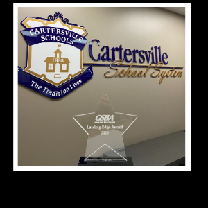 School Board Wins Leading Edge Award