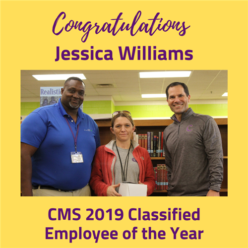 CMS 2019 Classified Employee of the Year