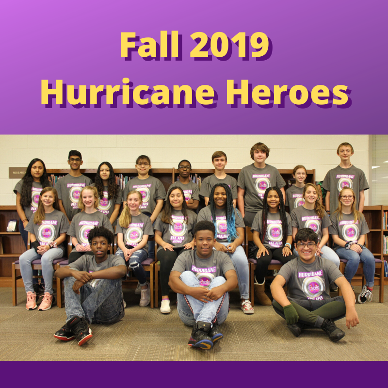 CMS Fall 2019 Hurricane Heroes