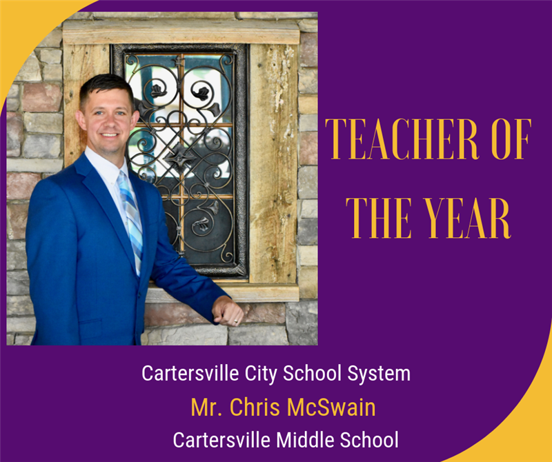 CMS & CCS Teacher of the Year