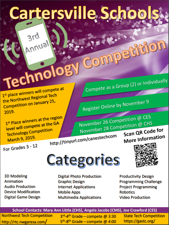 Cartersville City Technology Competition