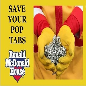 Ronald McDonald Can tabs