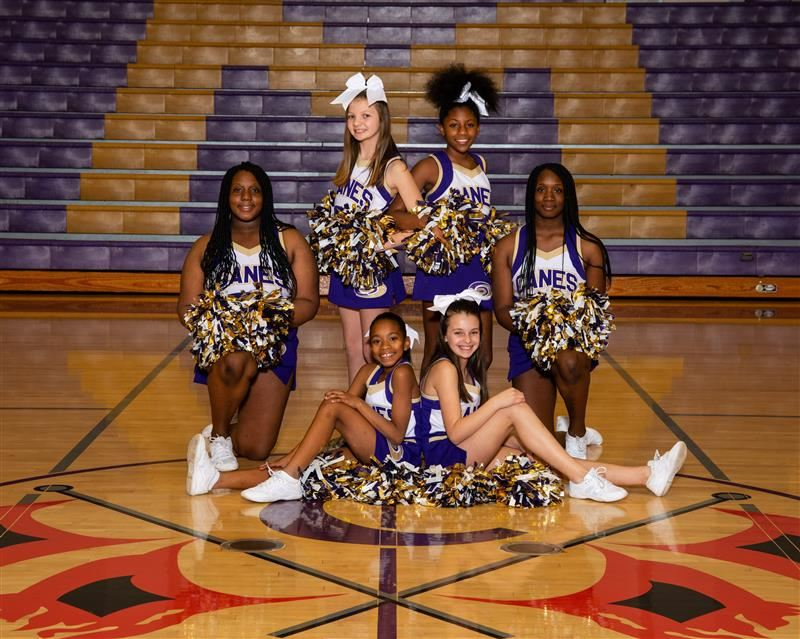 Basketball Cheerleading